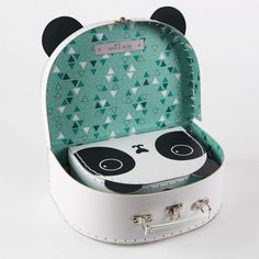Aiko Panda Kawaii Friends Suitcases - Set of 2 available to buy direct from Sass & Belle. Charming gifts and homeware, designed with love. Panda Love, Cute Panda, Panda Panda, Panda Bears, Panda Kawaii, Panda's Dream, Decorative Pebbles, Cool School Supplies, Blue Ceilings