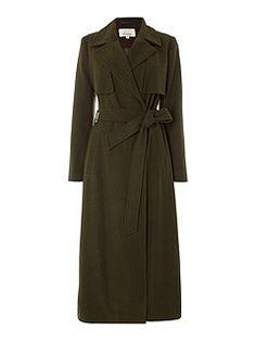 Longline Military Coat