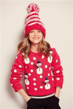 Buy Red Snowman Jumper (3-16yrs) from the Next UK online shop