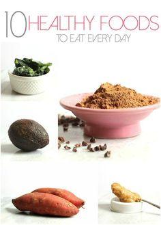 10 Healthy Foods to Eat Every Day #UdisGlutenFree | Hummusapien