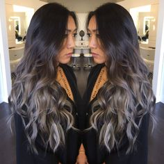 Image result for what is reasonable balayage colors for dark brown hair