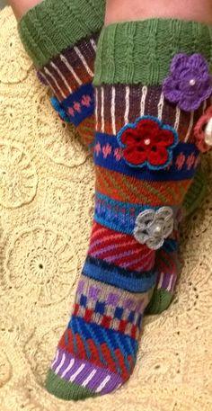 Hand knitted socks or gaiters/Hand knit socks/ от LyudmilaHandmade