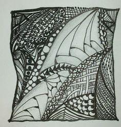 First Zentangle