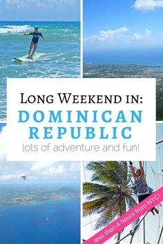 A Long Weekend in the Dominican Republic: What to do in Puerto Plata >> lots of adventure!