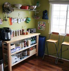 Idea for small kitchen.