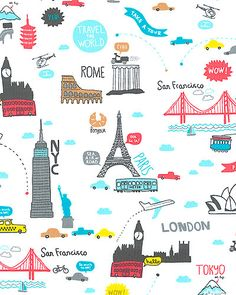 32 Best World Travel Fabric Images Fabric Quilts Pre