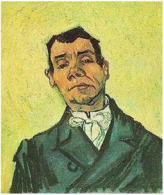 • Van Gogh - Ritratto di Joseph-Michel Ginoux (1888) - Mostra Van Gogh, Palazzo Reale, Milano