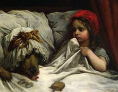 Image result for red riding hood painting