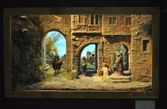 Click to Close Xmas, Christmas, Nativity, Scene, Painting, Mini, Vintage Christmas, Nativity Sets, Nativity Scenes