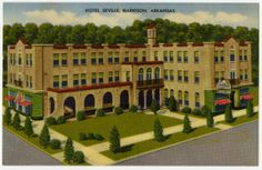 Hotel Seville in Harrison, unknown date. AHC3990