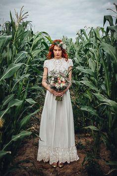 Sur cette robe aurelie ce mariage robe manches for Bas les robes de mariage arkansas