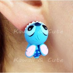 Cute Design inspired in Stitch simulating biting your ears All our products are handmade; therefore, there may be slight differences with the