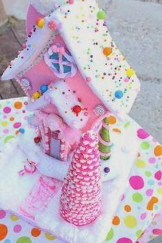 Gingerbread house- looks like a house from whoville