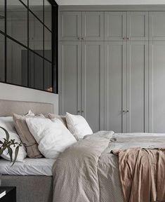 Ideas for bedroom wardrobe design grey Bedroom Paint Colors, Gray Bedroom, Bedroom Wall, Bedroom Decor, Bed Room, Bedroom Ideas, Bedroom Quotes, Bedroom Girls, Bedroom Rustic