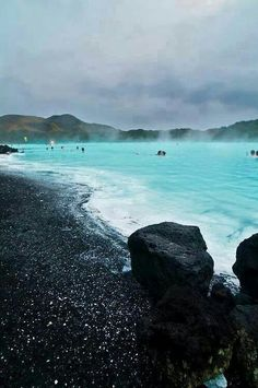 the blue lagoon in Iceland looks cool. i wanna go.
