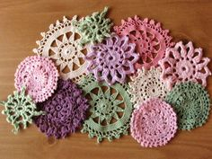 Doilies.. dye to customize color