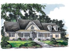 House Plan The Thorne Bay by Donald A. Gardner Architects