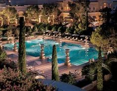 Bellagio Hotel Las Vegas Swimming Pool