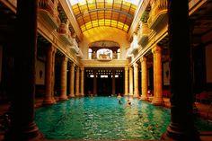 Gellert Baths, Budapest