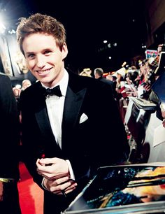fascinated by eddie redmayne's upper lip | via Tumblr