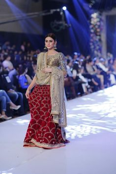2015 PFDC Loreal Paris Bridal Week Misha Lakhani Formal Dresses Pics