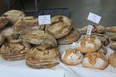 Crunchy bread from St John's Bakery, Druid Street