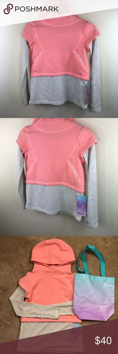 75729754 NWT Lululemon Ivivva best of both worlds Hoodie 10 New with tags Size  little girls 10