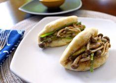 Bao Buns with Smoked MushroomsThe Seasonalist™ Bao Buns, Hoisin Sauce, Cheesesteak, Hot Dog Buns, Holi, Stuffed Mushrooms, Beef, Smoke, Meals