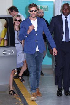 Jamie leaving ITV Studios 8.30.16 #JamieDornan