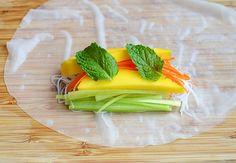 Mango Summer Rolls