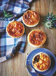Easy as pie to cook, these impressive little pies are perfect to serve up to friends and family. Asda Recipes, Pie Recipes, Scotch Pie Recipe, Burns Night Recipes, Individual Pie Dishes, Pie In The Sky, Brown Sauce, Scottish Recipes, Quick Easy Meals
