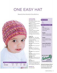 Creative Knitting AU 48 2015 Descarga, préstamo y transmisión gratuitos: Internet Archive Baby Knitting Patterns, Baby Cardigan Knitting Pattern, Baby Hat Patterns, Baby Hats Knitting, Knitting For Kids, Knitting For Beginners, Knitting Designs, Knitting Projects, Knitted Hats