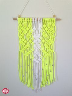 Modern Macrame Wall Hanging (Knotted Rope, Wall Art, Retro, Home Decor, Unique) | Loopy n Retro | madeit.com.au