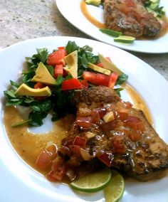 Pork Chops with Mojo - delicious and easy