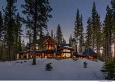 Modern Mountain home in Truckee, CA built by NSM Construction