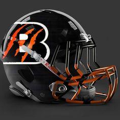 Cincinnati Bengals alt helmet design