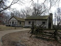 New Salem, IL, where Lincoln lived soon after he moved to Illinois.