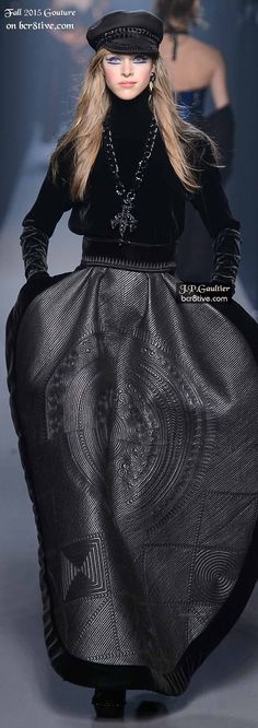 Jean Paul Gaultier Couture Fall 2015-16