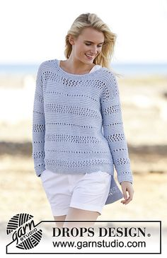 Ravelry: 161-29 Morning Breeze pattern by DROPS design