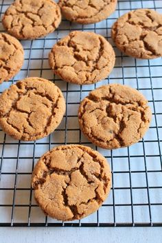 Eggless gingersnap cookies recipe - soft and chewy version of make gingersnap molasses cookies with intense spices flavor and made without eggs.