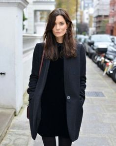 Minimal Style Perfection | All Black | Winter Coat | Outerwear