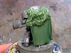 How to sculpt and mold fur cloaks and pelts