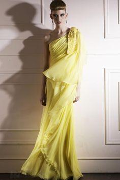 Elegant A-line One-shoulder Sleeveless Floor-length Bush Appliques Evening Dress
