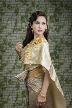 Cambodia wedding dress,