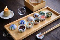 Asian Recipes, Gourmet Recipes, Asian Dinnerware, Caprese Salad Skewers, Food Business Ideas, Japanese Food Sushi, Food Presentation, High Tea, Afternoon Tea