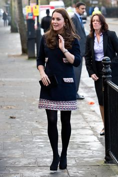 Kate Middleton at the Clore Art Room in London | Pictures | POPSUGAR Celebrity