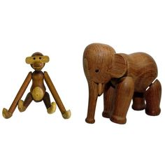 Aap en olifant Kay Bojesen