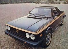 1979 Lancia Zagato, my 1st car
