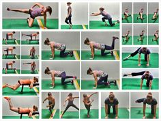 Develop strong, sexy glutes and prevent pain and injury with these 15 Bodyweight Glute Exercises. Home Exercise Program, Home Exercise Routines, At Home Workout Plan, Workout Programs, At Home Workouts, Workout Ideas, Bodyweight Glute Exercises, Glut Exercises, Gluteus Workout