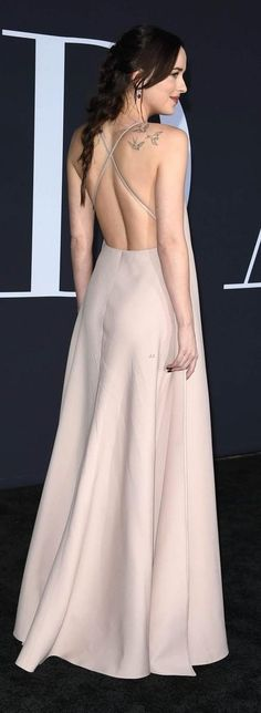 This gown is Simply Wow!!! #valentino from @dakotajohnsoninspiration's closet
